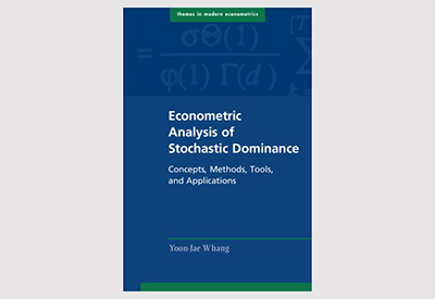 [황윤재 교수님 신간소개] Econometric Analysis of Stochastic Dominance